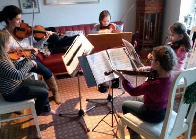 Quartett-Probe